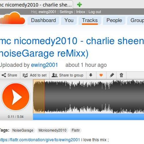 mc nicomedy2010 - charlie sheen meets the sentinel [flattR money noiseGarage karneval reMixx)
