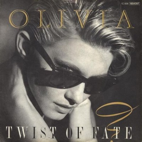 """Olivia Newton John"" - ""Twist Of Fate"" (12"")"