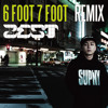 6 FOOT 7 FOOT remix - ZEST
