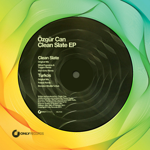 Ozgur Can - Clean Slate (Original Mix)