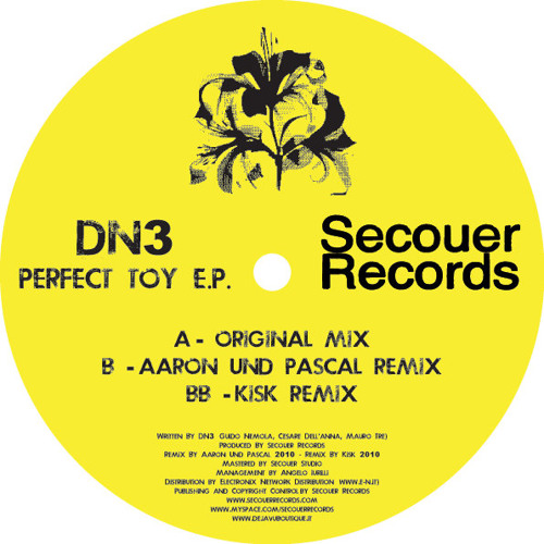 DN3 - Perfect Toy (Aaron Und Pascal Remix)