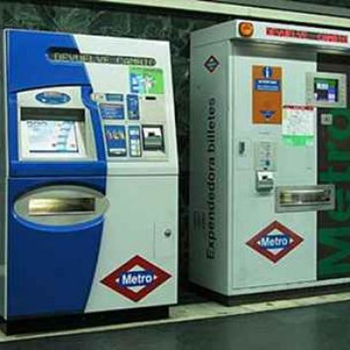 Underground ticket machine