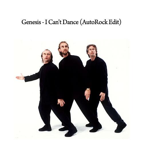 Genesis I Can T Dance Autorock Edit By Autorockdc