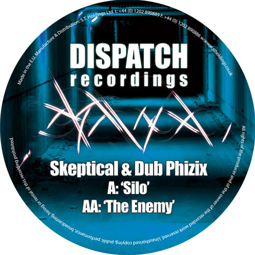 Skeptical & Dub Phizix - The Enemy - Dispatch Recordings 045 (CLIP) - OUT NOW