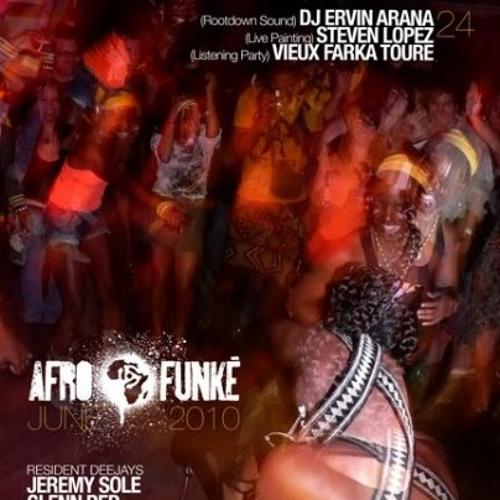 Ervin Arana - Afro Funké Live [Snippet]