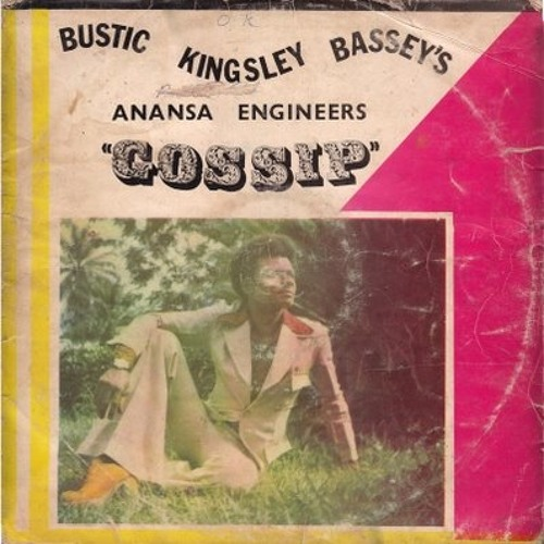 "Bustic Kingsley Bassey's Anansa Engineers - journey to luna from (the album ""gossip"", Nigeria, 1975"