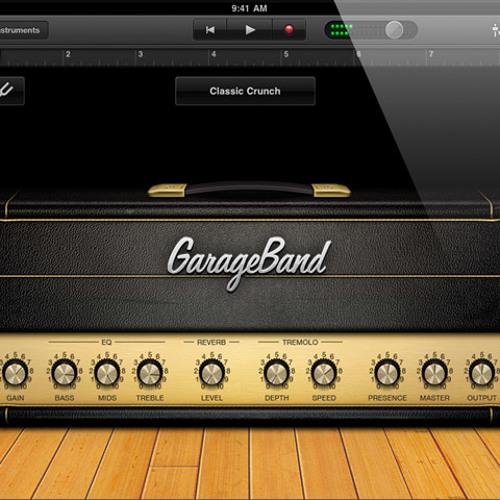 GarargeBand for iPad