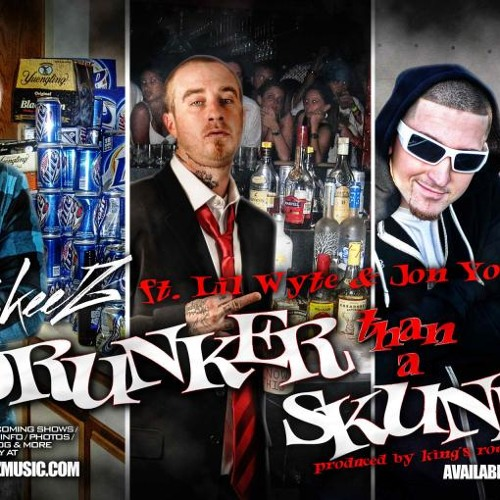 SkeeZ - Drunker Than A Skunk (Ft. Lil Wyte & Jon Young)