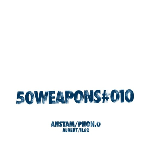 """PHON.O """"IL62"""" (50WEAPONS010) 10INCH OUT IN APRIL"""