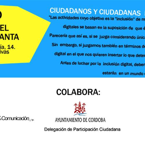 """Conferencia Richard Stallman """"Por una sociedad digital libre"""" en Córdoba"""