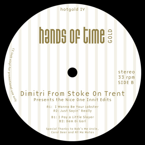 "Dimitri From Stoke On Trent ""I Pay a Little Slayer"""