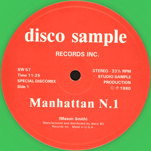 Manhattan N°1 Disco Sample 12'' (DEMO)