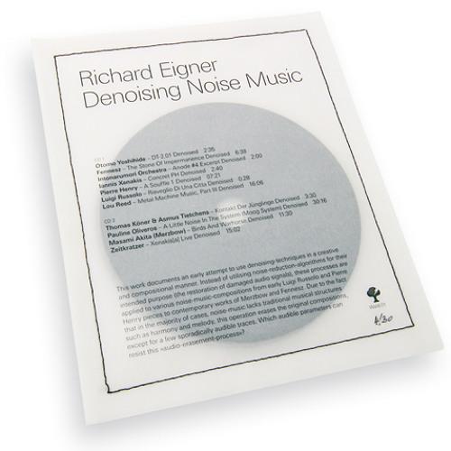 Richard Eigner - Otomo Yoshihide - DT-2.01 (Denoised)