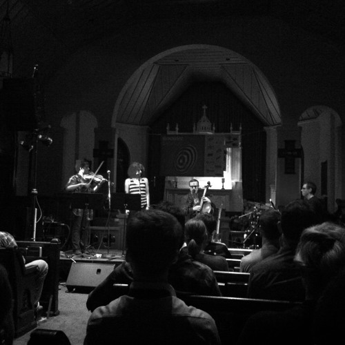 Bob Boilen after Ben Sollee's set at St. David's Historic Sanctuary