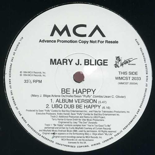 mary j. blige be happy