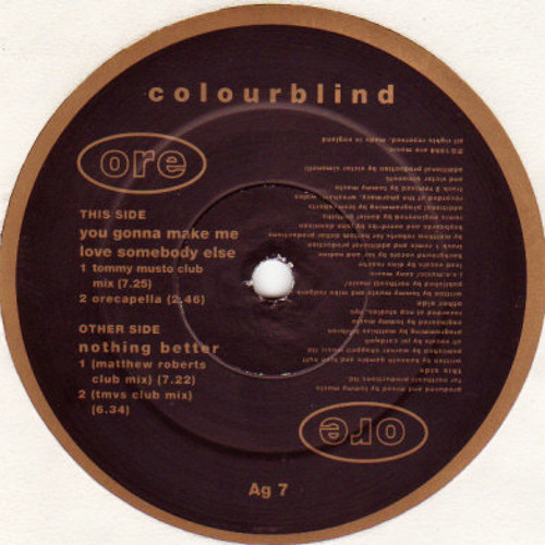COLOURBLIND - NOTHING BETTER (TMVS CLUB MIX)