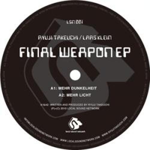 Ryuji Takeuchi / Lars Klein 'Final Weapon EP' (LSN 01, JPN) SHORTCLIP 96kbps mp3