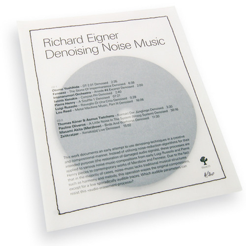 Lou Reed - Metal Machine Music, Part III (Denoised by Richard Eigner)