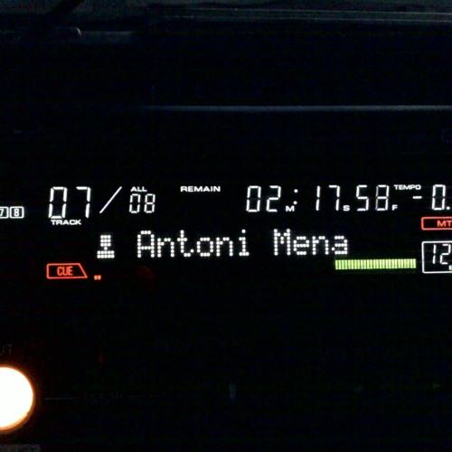 Dj Antoni Mena - Electronic Ink
