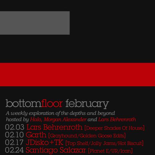 Lars Behrenroth - Live @ Bottom Floor 02.03.11