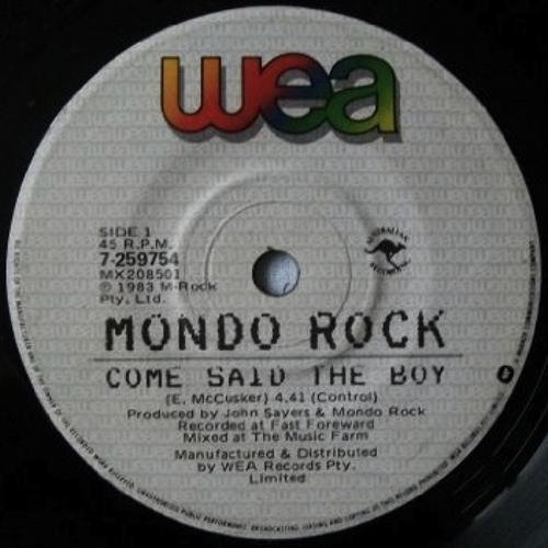 Mondo Rock - Come Said The Boy (Dublin Aunts Deflowering Edit)