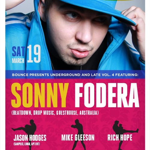 Sonny Fodera live in Toronto @ Bounce Underground & Late Vol 4