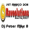Dj Peter Mike B @ RAVEOLUTIONS Djs (Rua Fm) Live Set Março