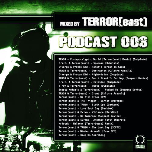 DarkBox Recordings Podcast 003 By Terror[east]