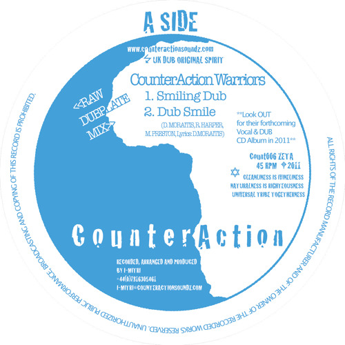 CounterAction Warriors - Dub Smile (COUNT006)
