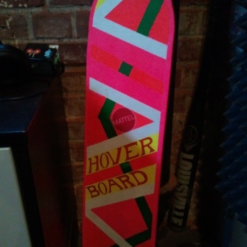 Riding on my Hoverboard
