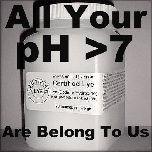 All Your pH >7 Are Belong To Us - Instrumental