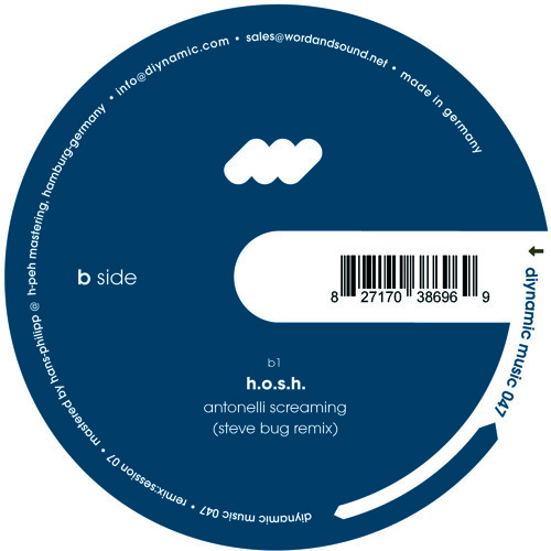 H.O.S.H. - Antonelli Screaming (Steve Bug Remix)