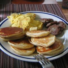 House for breakfast