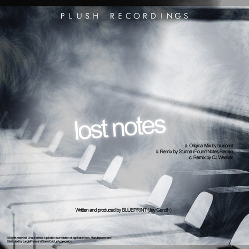 Blueprint - Lost Notes (Stunna's Found Notes Remix) (clip) - Plush Recordings