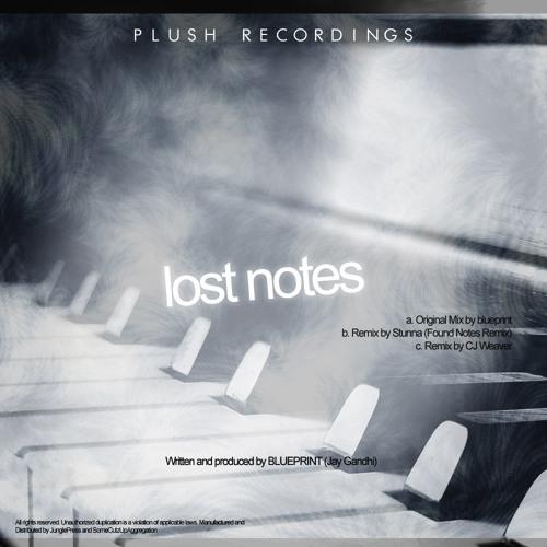 Blueprint - Lost Notes (clip) - Plush Recordings