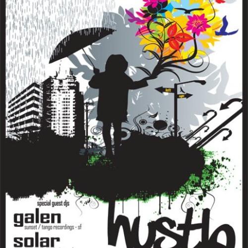 GALEN & SOLAR - live at HUSTLE