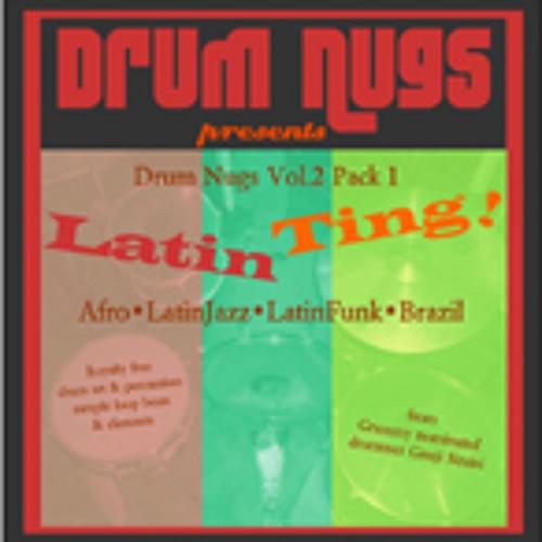Free Drum Loops sample pack for LatinTing DrumNugs Vol.2