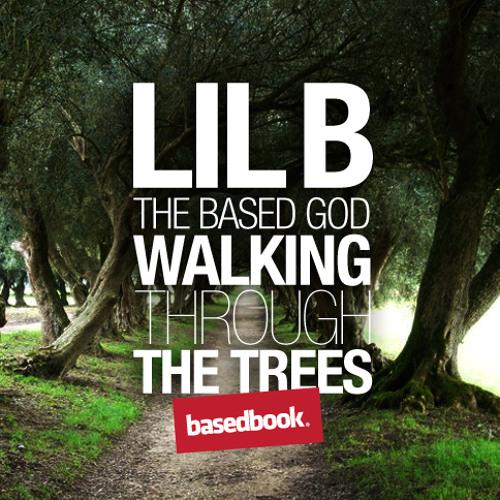 LIL B - Walking Through The Trees