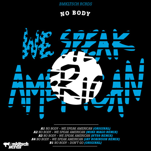 No Body - We Speak American EP