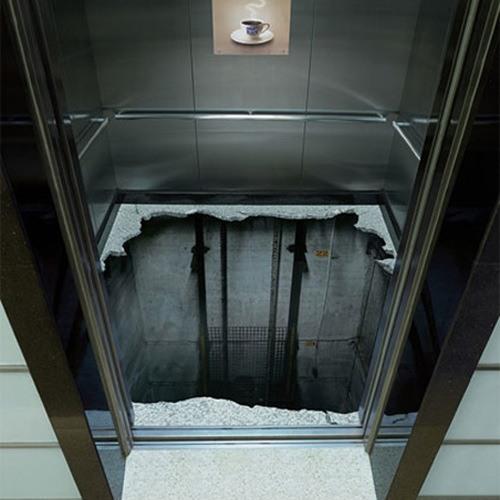 The elevator of Kaisaniemenkatu 6, Helsinki