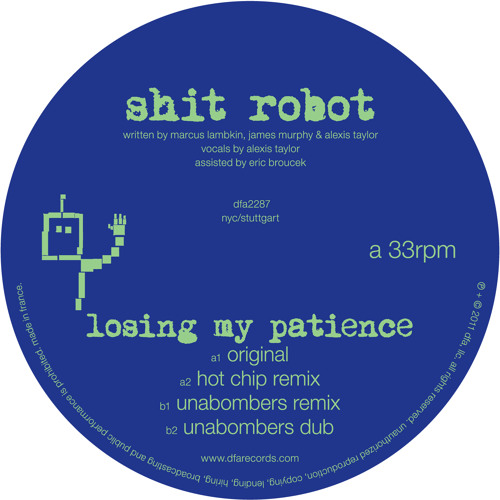 Shit Robot - Losing My Patience (Original)