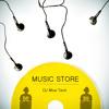 (music store)