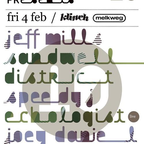 echologist vs speedy J (recorded live at melkweg feb. 2011)