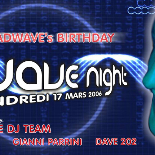 """Madwave live @ MAD """"Wave Night"""" - Lausanne (17.03.2006)"""