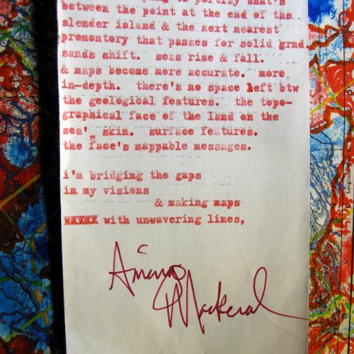 the epistles of amerigo mackeral