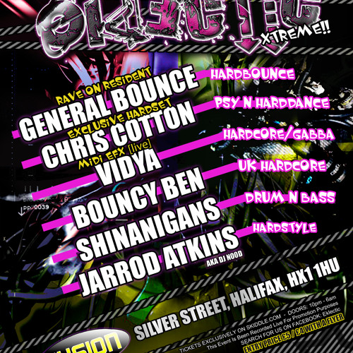 DJ General Bounce - Eklectic XTREME Promo April 2011