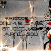 Stress Factor Podcast 044 - DJ B-12 - April 2011 Drum & Bass Studio Mix