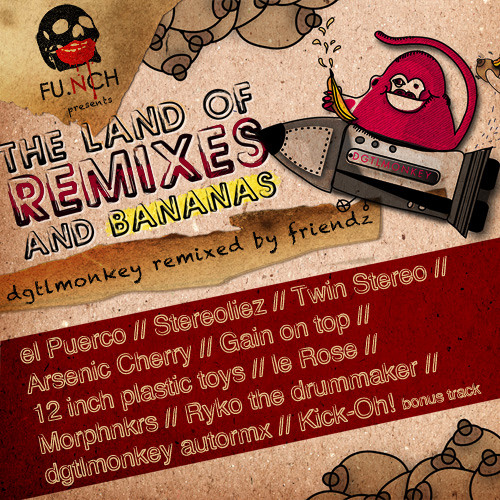 DgtlMonkey - Lunatiq (Ryko the drummaker remix)__OUT NOW ON BEATPORT