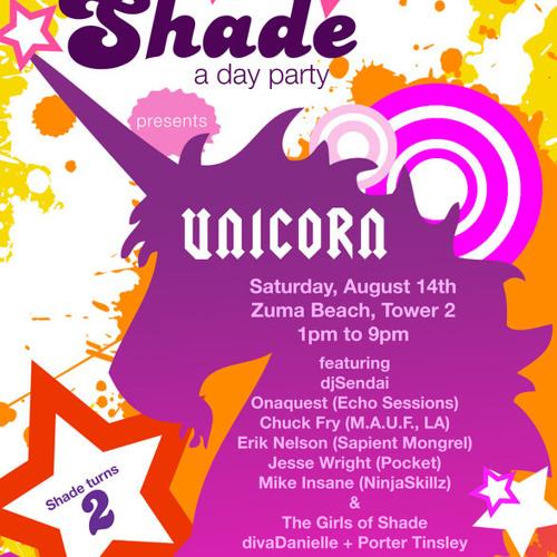 Shade -- Unicorn (Live Set)