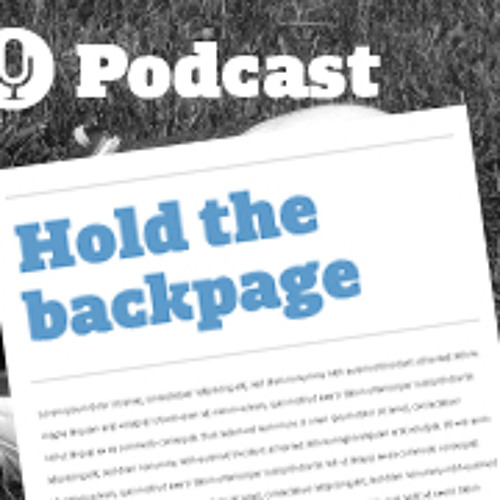 Hold the BackPage - Mambo Italiano
